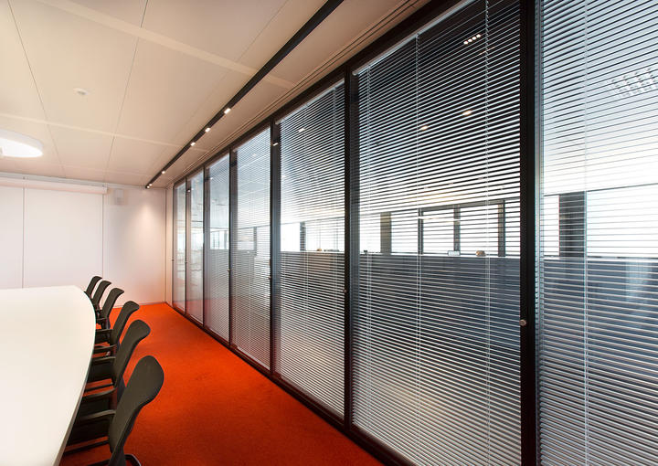 blinds in glaswand